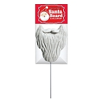 Santa Beard Lollipop Masks: 24 Peg Bags