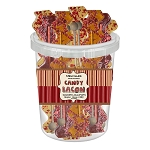 Bacon Lollipops: 30 Pack Bucket