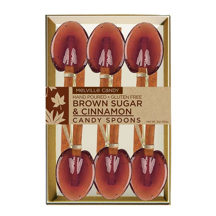 Cinnamon brown sugar spoons by melville candy home spoons stirrers cinnamon stick spoons brown sugar cinnamon spoons 3 kraft gift sets negle Image collections