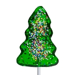 Classic Christmas Tree Lollipops: 24 Pack
