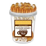 Clover Honey Spoons: 30 Pack Bucket