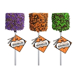 Giant Chocolate Dipped Halloween Marshmallows: 12 Pack