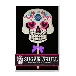 Giant Sugar Skull Lollipop Masks: 3 Acetate Gift Sets