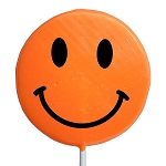 Giant Smiley Face Lollipops: 6 Pack