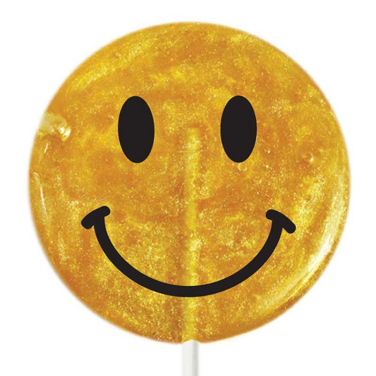 giant smiley face lollipops 6 giant hard candy lollipops shaped