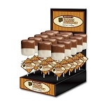 Candy Fondue Toasted Marshmallow Lollipops: 24 Pack Display