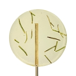 Rosemary & Lemon Natural Lollipops: 24 Pack