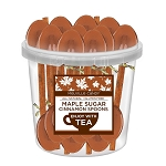 Maple Cinnamon Spoons: 50 Pack Bucket