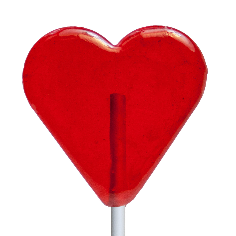 valentine mini heart lollipops 3 kraft gift sets - Valentine Lollipops
