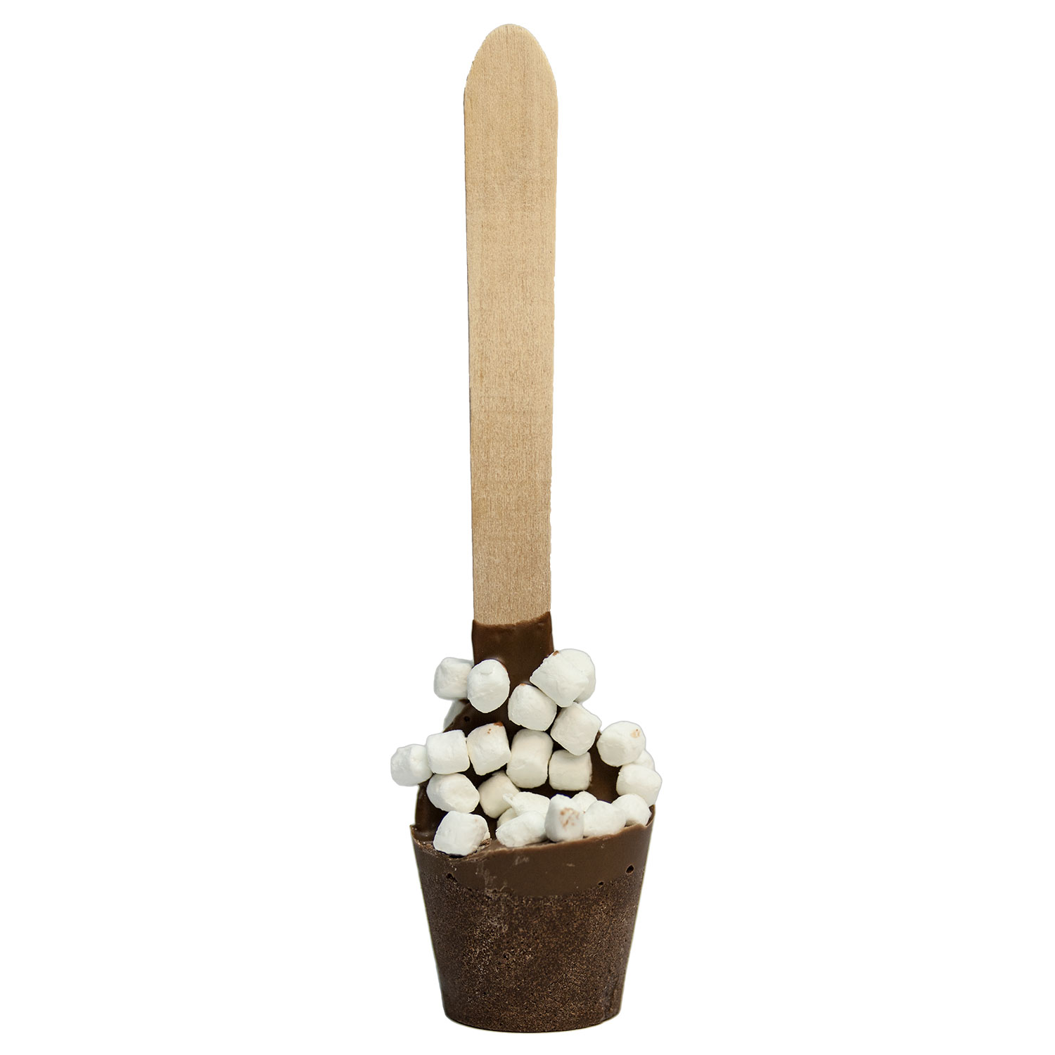 Mini Marshmallow Hot Chocolate Spoons by Melville Candy