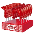 Lobster Lollipop Assortment: 24 Pack Display