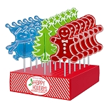 Whimsical Lollipop Assortment: 24 Pack Display