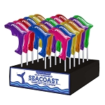 Dolphin Lollipops: 24 Pack Display