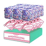 Giant Cotton Candy Marshmallows: 12 Pack Display