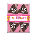 Emoticon Poop Lollipops: 3 Acetate Gift Sets