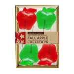 Fall Apple Lollipops: 3 Gift Sets