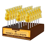 Honey Bear Lollipops: 24 Pack Display