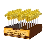 Honey Bee Lollipops: 24 Pack Display