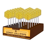 Kosher Honeycomb Lollipops: 24 Pack Display