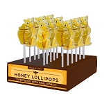 Honey Bear & Honey Pot Lollipop Assortment: 24 Pack Display