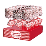 Giant Peppermint Marshmallows: 12 Pack Display