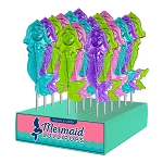 Mermaid Lollipops: 24 Pack Display