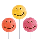 Smiley Face Lollipops: 24 Pack