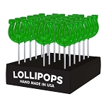 Lucky Horseshoe Lollipops: 24 Pack Display