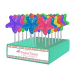 Starfish Lollipops: 24 Pack Display
