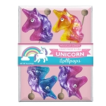 Glitter Swirl Unicorn Lollipops: 3 Acetate Gift Sets