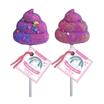Unicorn Poop Lollipops: 12 Pack