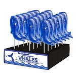 Whale Lollipops: 24 Pack Display