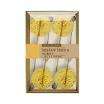 Sesame & Honey Natural Lollipops: 3 Kraft Gift Sets