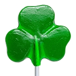 Lucky Shamrock Lollipops: 24 Pack