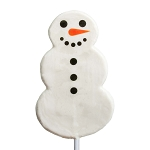 2oz Snowman Lollipops: 24 Pack