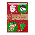 Royal Iced Holiday Lollipop Assortment: 3 Kraft Gift Sets