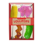 BBQ Lollipop Assortment: 3 Kraft Gift Sets