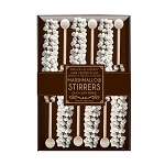 Mini Marshmallow Chocolate Stirrers: (3) 6PK KRAFT GIFT SETS