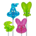 Assorted Bunny Lollipops: 12 Pack