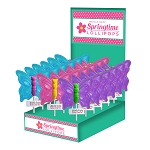 Fancy Butterfly Lollipops: 24 Pack Display