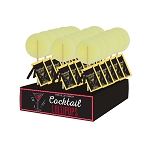 Limoncello Cocktail Lollipops: 24 Pack Displays