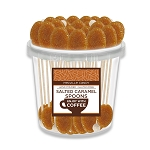 SALTED CARAMEL COFFEE SPOONS: 50 Pack Bucket