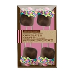 Small Confetti Marshmallow Cupcakes: 3 Kraft Gift Sets