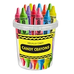 Crayon Lollipops: 30 Pack Bucket