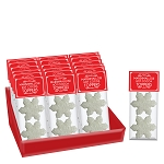 Crystalz Snowflake Marshmallow Toppers: (18) 2 Pack Caddy
