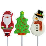 Sweet Holiday Lollipop Assortment: 24 Pack