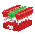 Fall Apple Lollipops: 24 Pack Display