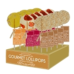 Strawberry & Champagne, Moscow Mule, & Champagne Bubbles Cocktail Lollipops: 24 Pack Display