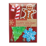 Frosted Holiday Lollipop Gift Sets: 3 Kraft Gift Sets