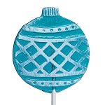 Frosted Ornament Lollipops: 24 Pack